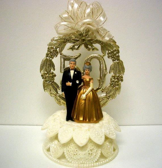 Wilton 50th Anniversary Cake Topper