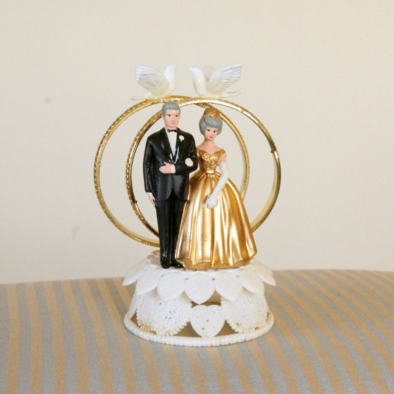 Wilton 50th Wedding Anniversary Cake Toppers
