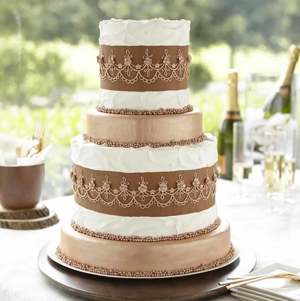 Wilton Tiered Wedding Cakes
