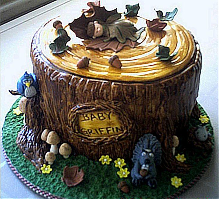 12 Photos of Wild Animal Baby Shower Cakes