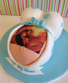 3D Images On Cakes for Baby Shower