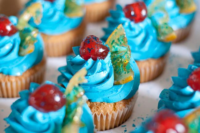 Alcohol Shot Cupcake Recipes