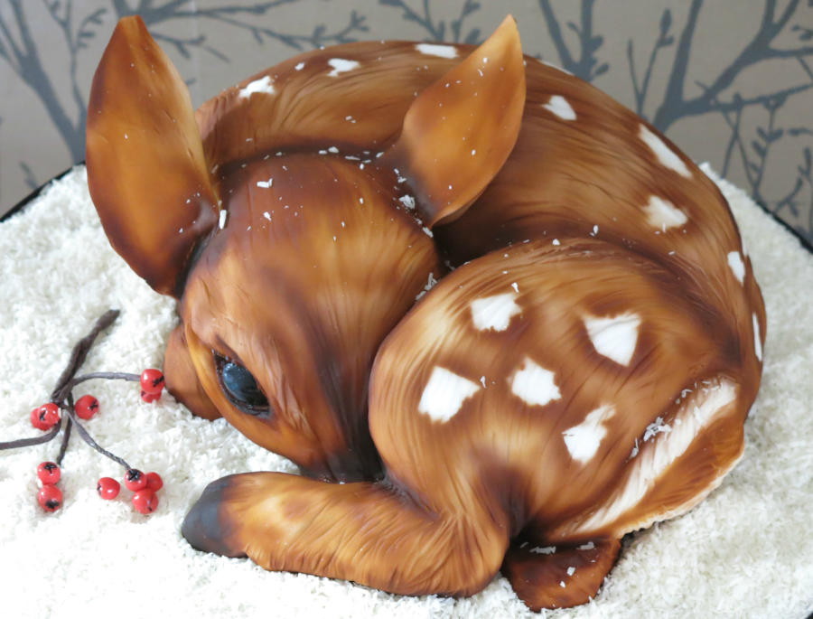 7 Photos of Animals Carved Cakes