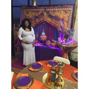 Arabian Nights Themed Baby Shower