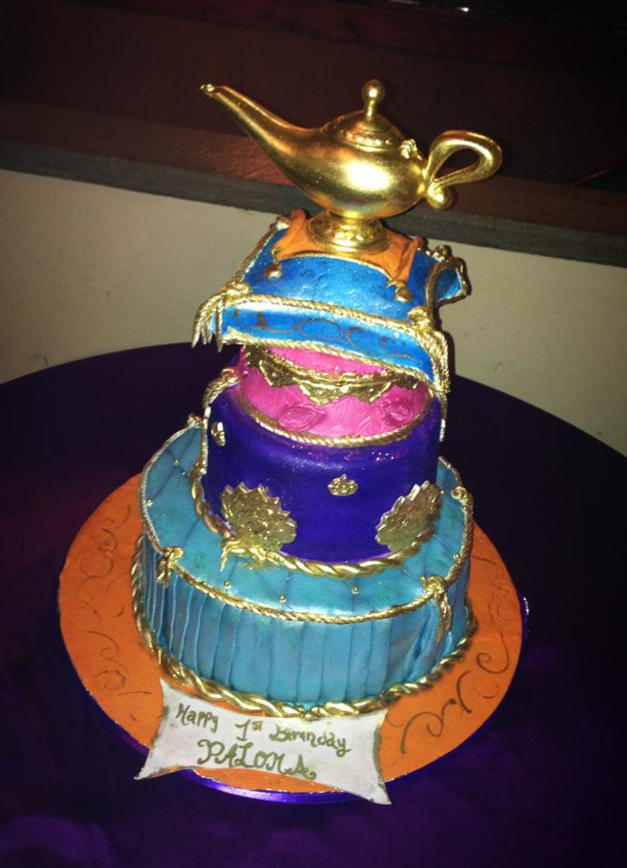 Arabian Themed Birthday Cake