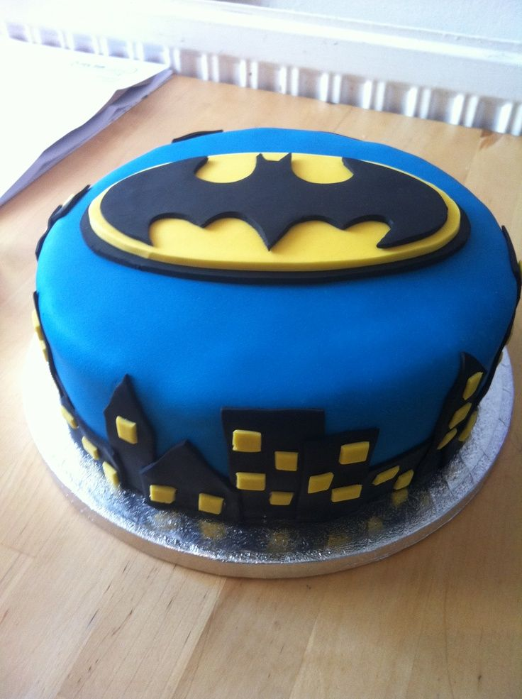 Batman Cake Designs