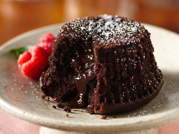 Betty Crocker Chocolate Molten Lava Cupcakes