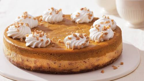 Betty Crocker Pumpkin Cheesecake