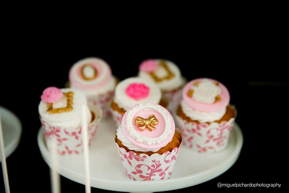 Black and Pink Baby Shower Ideas