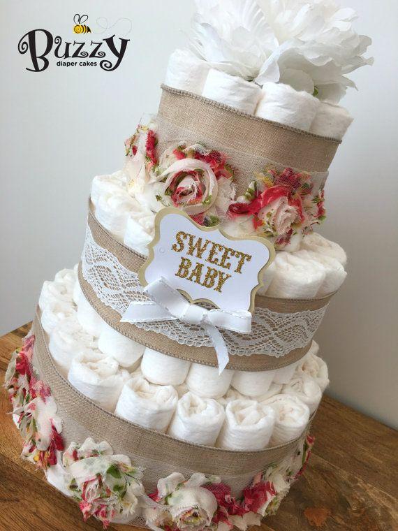 Boho Baby Shower Cake