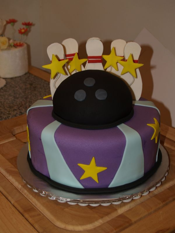Bowling Birthday Cake Ideas