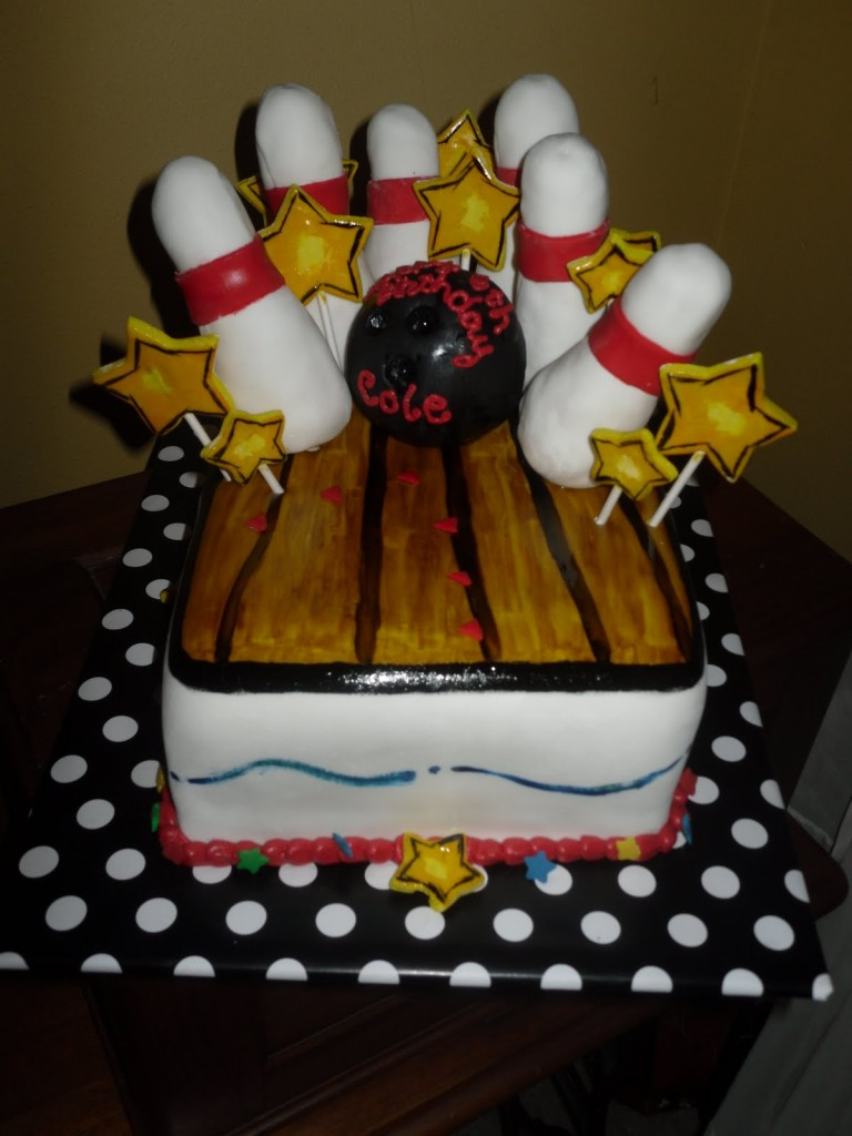 Bowling Cake Ideas