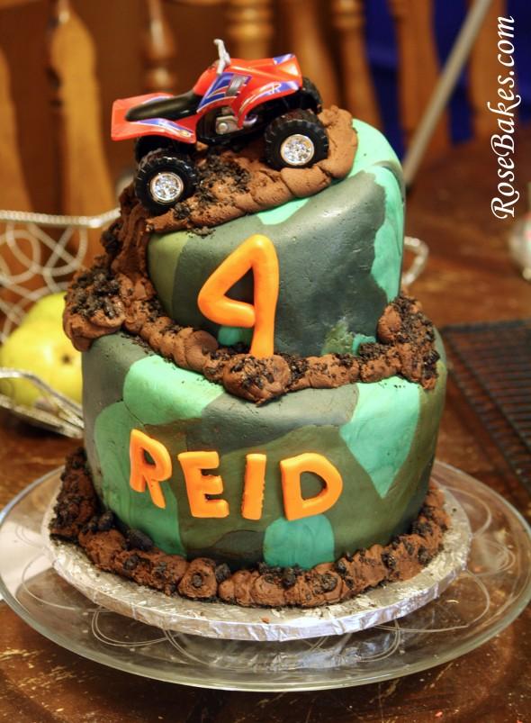 Camouflage Camo Birthday Cakes Boy