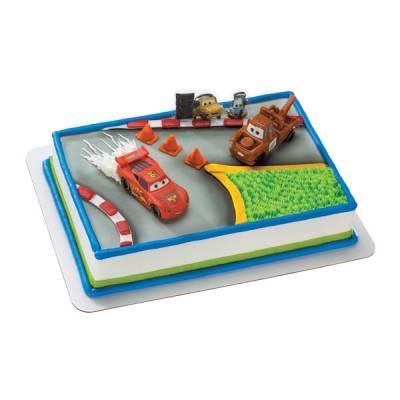 Cars 2 World Grand Prix Cake