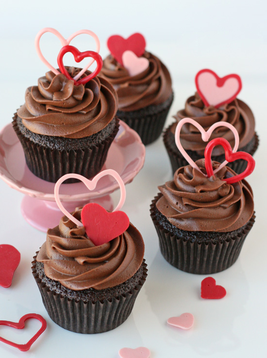 11 Photos of Chocolate Cupcakes For Valentine's Day