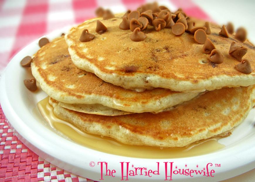 Cinnamon Chip Pancakes