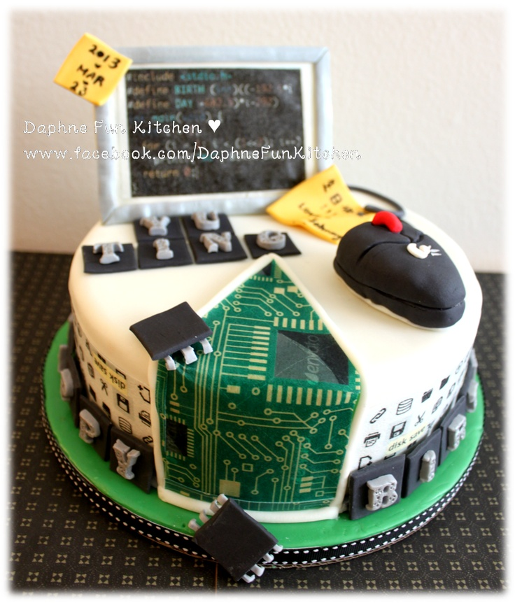 Computer Science Birthday Cake