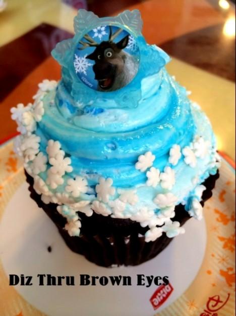 Cupcake Cake Disney Frozen