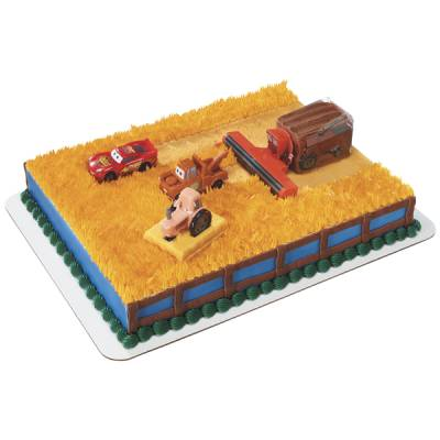 Disney Cars Tractor Tipping Cake