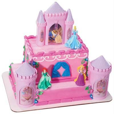 Disney Princess Castle Cake Kit
