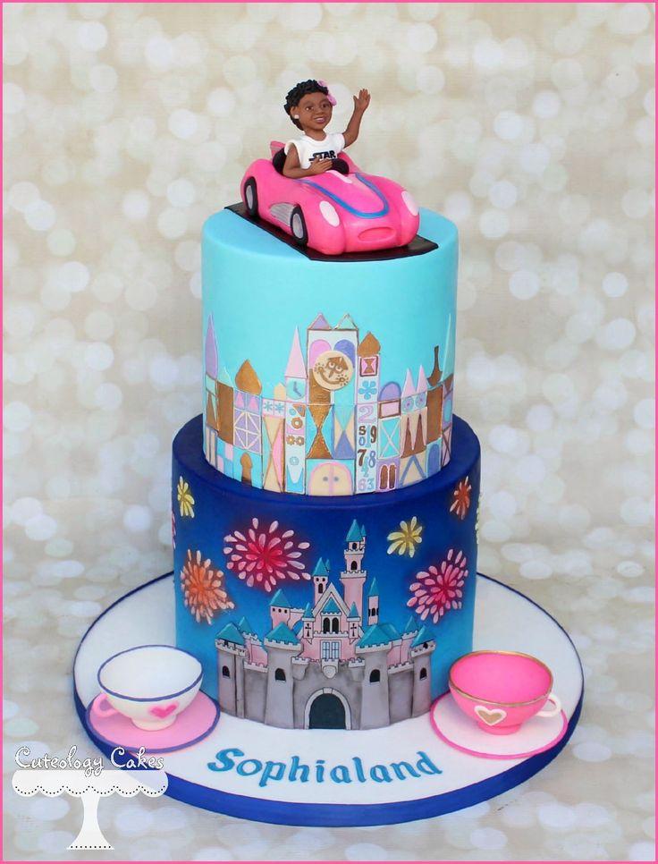 Disneyland Birthday Cake