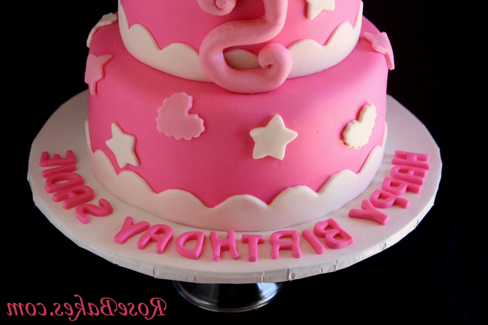 Do It Yourself Minnie Birthday Cake