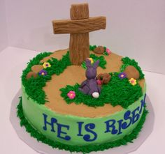 Easter Cross Cake