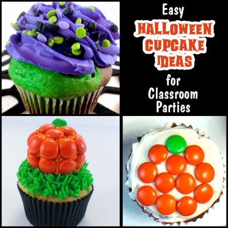 Easy Halloween Cupcake Ideas
