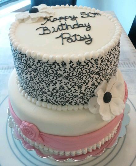 Elegant Birthday Cake