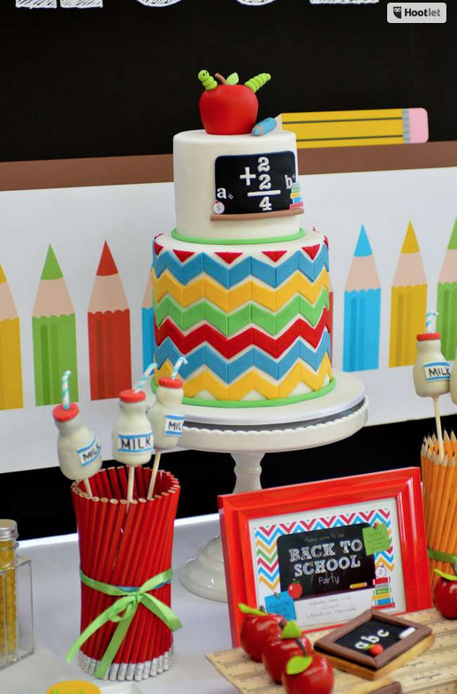 Elementary School Graduation Party Cake Ideas