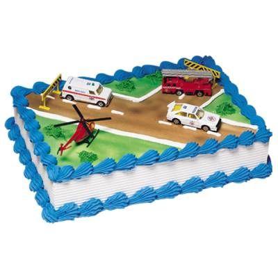 Emergency Vehicles Cake Publix