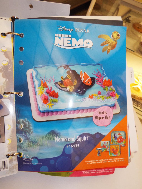 Finding Nemo Cake Publix