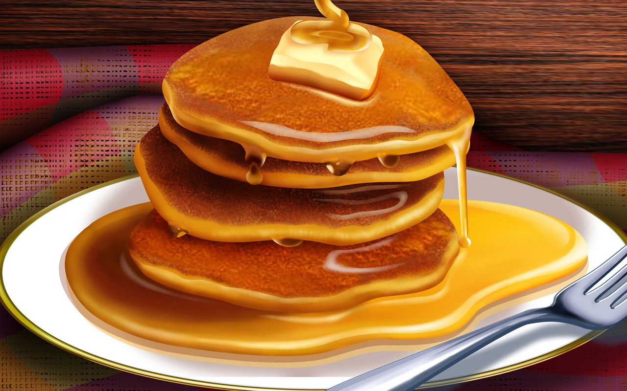 Food Delicious Pancakes