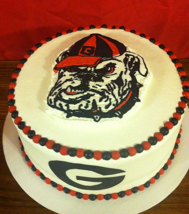 Georgia Bulldog Cake