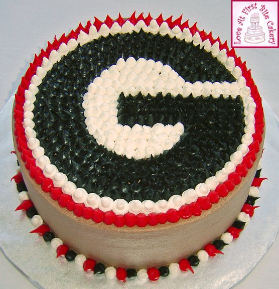 Georgia Bulldogs Birthday Cake