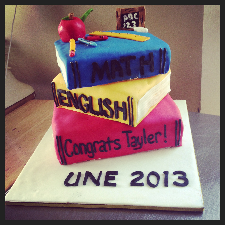 Graduation Cake Elementary Ed