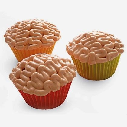 Halloween Brain Cupcakes Recipe