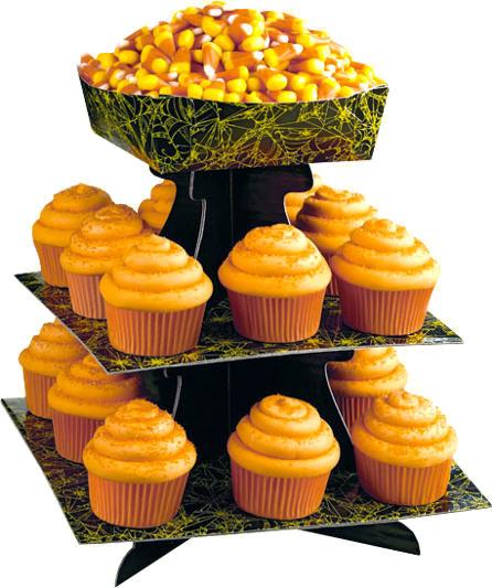 Halloween Spider Cupcake Stands