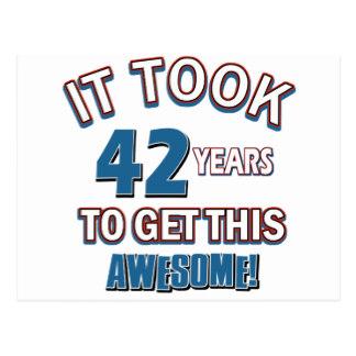Happy Birthday 42 Years Old