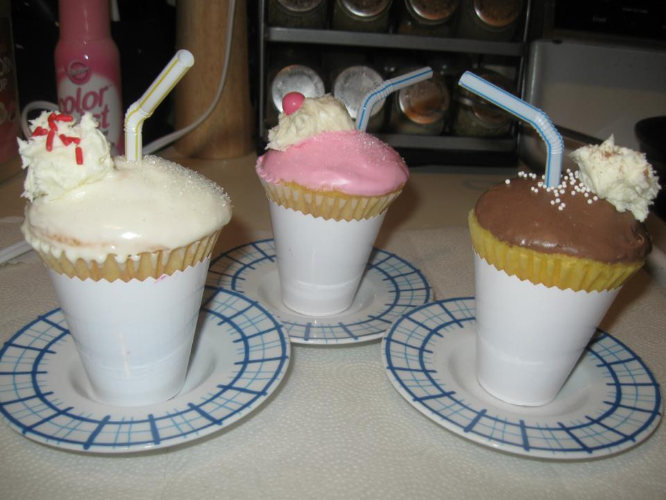 Ice Cream Soda Cupcakes
