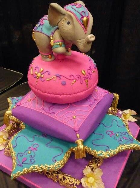 Indian Elephant Birthday Cake