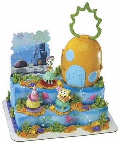 Kroger Birthday Cakes Spongebob