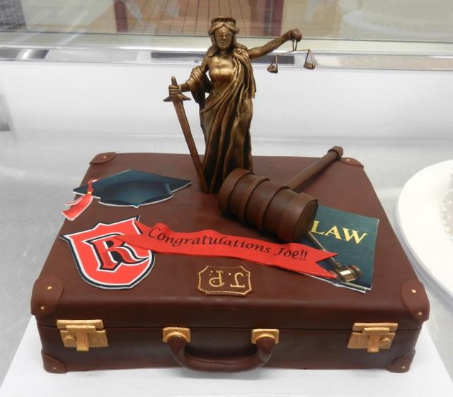 Law School Graduation Cake