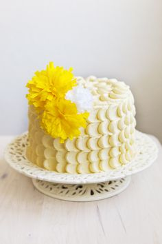 Lemon Birthday Cake Ideas