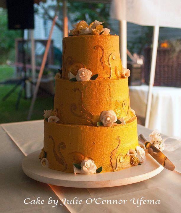Lemon Themed Wedding Cake