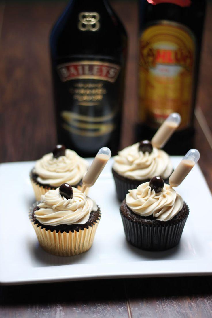 Liquor Infused Cupcakes Recipes