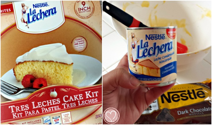 Mexican Chocolate Tres Leches Cake