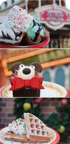 Mickey's Very Merry Christmas Dessert