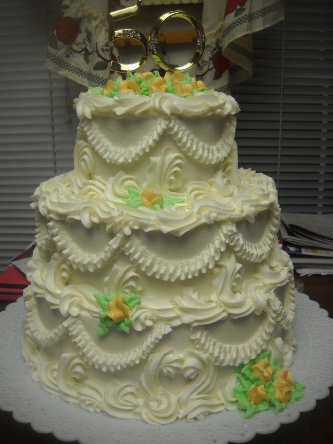 Old-Fashioned Wedding Cake