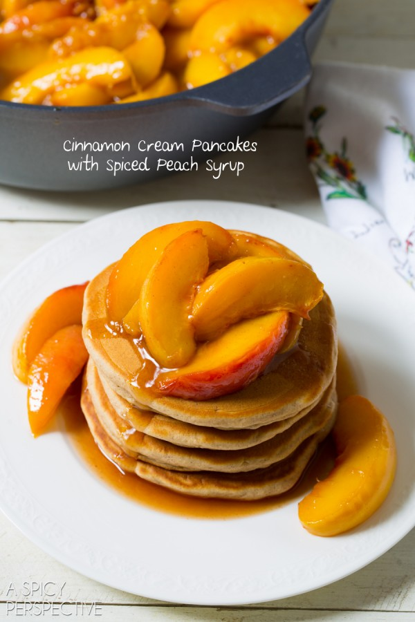 Peach Pancake Syrup Recipe
